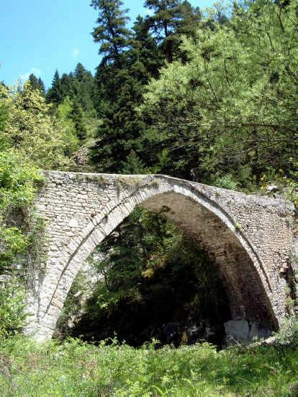 Pertouli bridge
