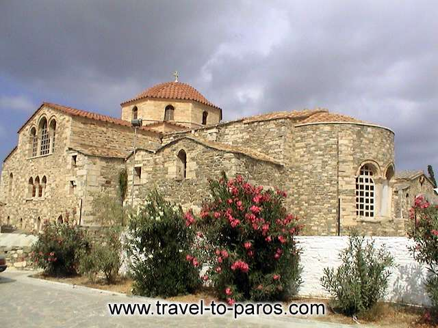 Ekatontapiliani The church of Ekatontapyliani is one of the most important paleochristian monuments in Greece