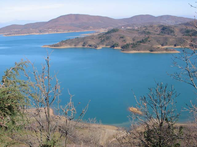 The lake of Agrafa