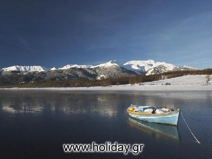 ����� �������� The famous Tavropos or Plastira lake (Limni Plastira as it is mostly known) is an ornament of Agrafa and the only treasure in Karditsa.