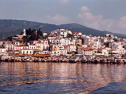 Welcome to the beautiful town of Skiathos