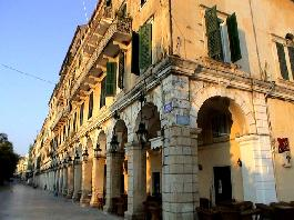 A Monument of the UNESCO World Heritage, the Old Town of Corfu