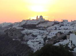 Santorini island one of the top 10 travel destinations globally