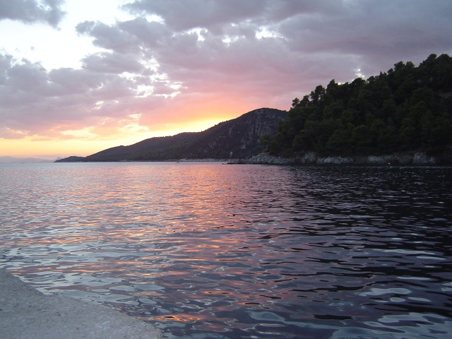 Sunset at Agnontas - Skopelos
