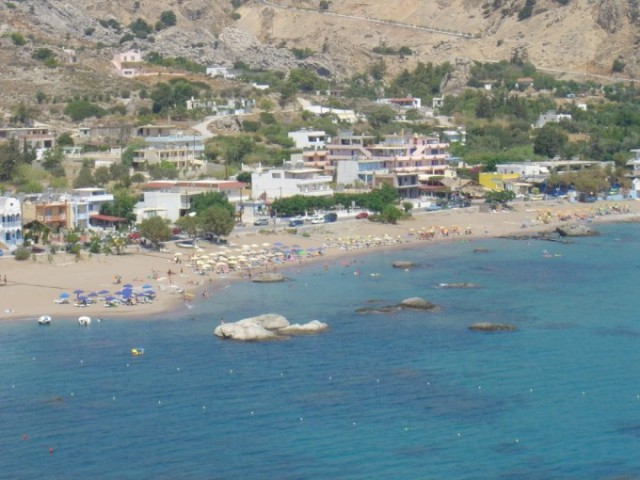 Stegna Beach in close