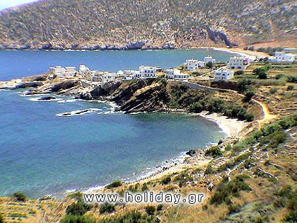The fishing village of Apollonas